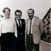 У. Караткевіч, В. Жыдліцкі (Прага), Алесь Барскі (Варшава). Менск, 10 траўня 1968 г.