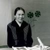Ніна Ватацы у студыі літаратурна-драматычных праграм Беларускага тэлебачання.