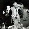 Уладзімір Някляеў з дочкамі Ілонай і Евай.