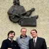 Уладзімір Някляеў з Ігарам Лучанком і Алегам Моўчанам.