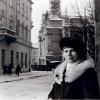 Валянціна Коўтун у родным Львове. 1992 г.