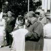 Вольга Іпатава на Скарынінскім свяце ў Віцебску. 1990 г.