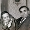 Зоська Верас з Анатолем Наліваевым.