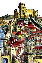 """Літва з """"Нюрнберскае хронікі"""" Шэдэля (канец XV стагоддзя)"""