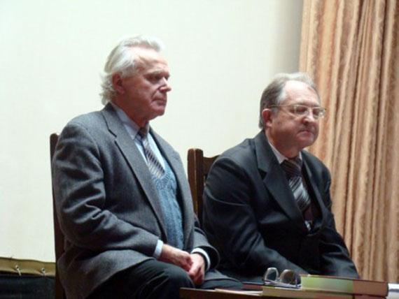 Васіль Якавенка і Анатоль Верабей
