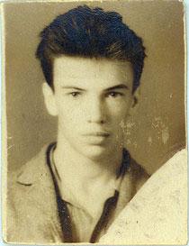 Студэнт Сяргей Ханжанкоў, незадоўга перад арыштам, 1962 г.