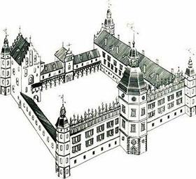 Гольшанский замок 17 ст.