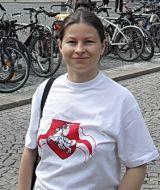 Ірына Хадарэнка - пісьменніца, перакладчыца, публіцыст і навукоўца.