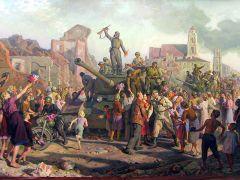 Волков Валентин. «Минск 3 июля 1944 г.».