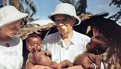 Альберт Швейцер. Философ, теолог, музыкант, музыковед, писатель, историк, врач. Трижды доктор наук. Лауреат Нобелевской премии мира. Родился 14 января 1875 г.