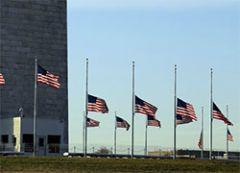 В США объявлен четырехдневный траур по жертвам теракта