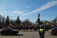 «Путин, геть!» Митинг и шествие в Харькове