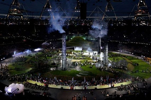 В Лондоне открылись ХХХ Олимпийские игры