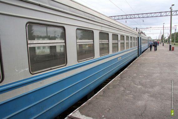 Из Славутича на станцию несколько раз в день ходит электричка.