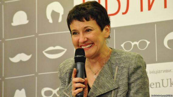 Оксана Забужко, выступление в Киеве