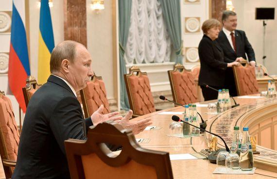 Эти переговоры стали одними из самых продолжительных в карьере президента Путина.