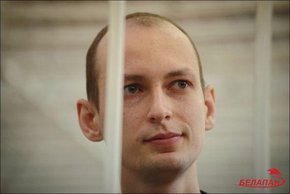 Эдуард Пальчис в суде в день вынесения приговора. Фото Сергея Балая