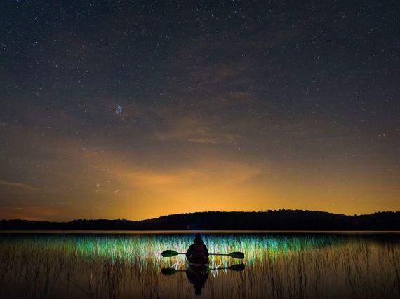 Свет травы, Канада